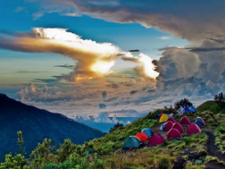 Your Camp at Mount Rinjani