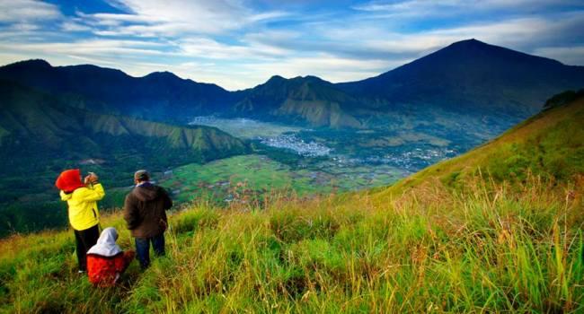Nice view at Pelawangan Sembalun Village