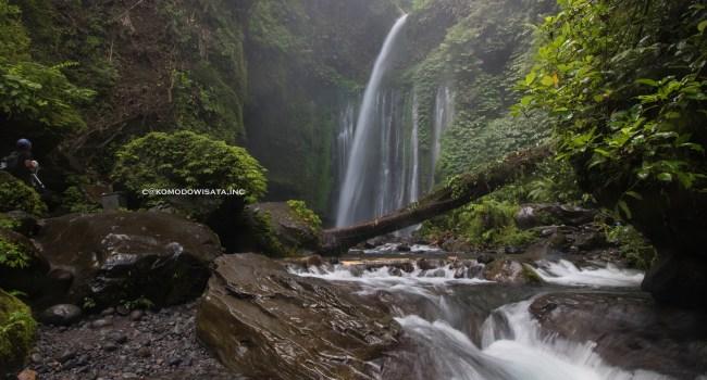 Tiu Kelep Water fall at Senaru Village